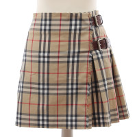 Burberry Pleated skirt with leather closure