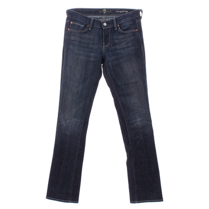 "7 For All Mankind Blue jeans ""straight leg"""
