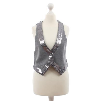 Altre marche Custommade - grigio giacca con paillettes