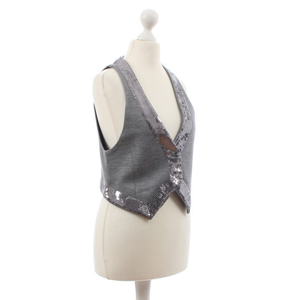 Other Designer Custommade- grey jacket with sequins