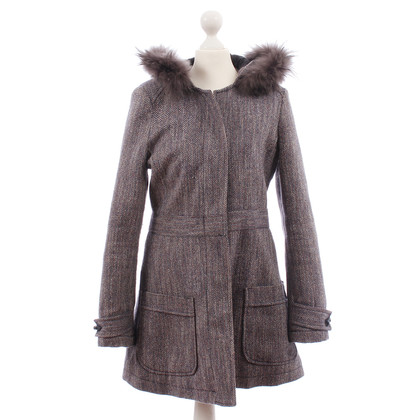 Armani Waisted wool coat