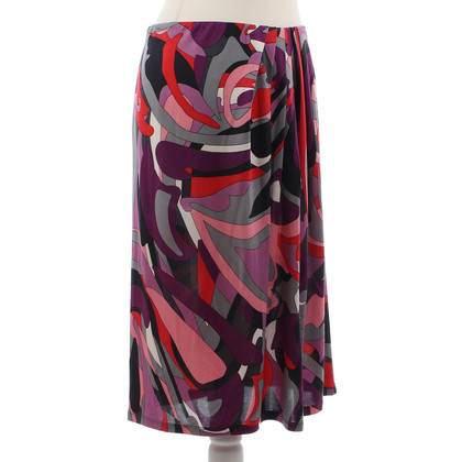 Marc Cain Skirt with silk