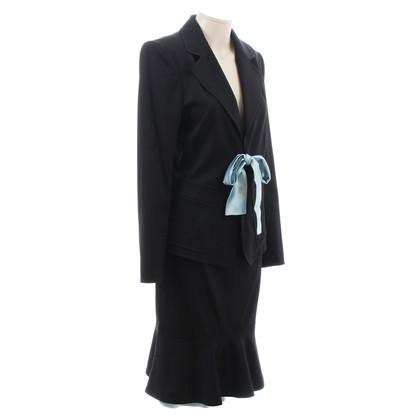 Yves Saint Laurent Kostuum met zijde rok