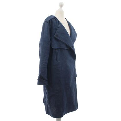 Acne Mantel aus Leinen