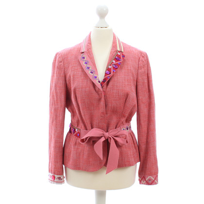 Moschino Cheap and Chic Blazer mit Applikationen