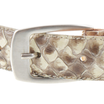 Rich & Royal Reptile leather belt