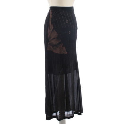 Jean Paul Gaultier Semi transparent skirt
