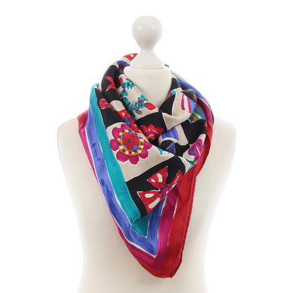 Emanuel Ungaro Zijden sjaal met patroon
