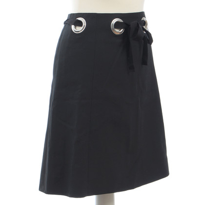 Chloé skirt with eyelets