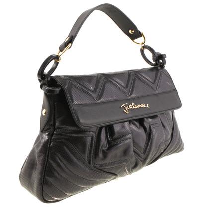 Just Cavalli Schwarze Handtasche