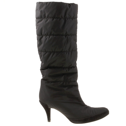 Pedro Garcia Quilted shaft boots