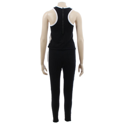 Karl Lagerfeld Jumpsuit in zwart-wit