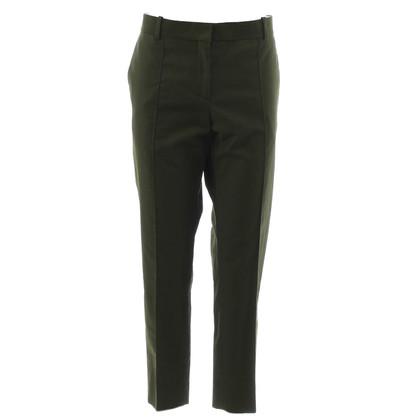 Céline Verde pantaloni 7/8