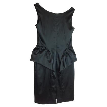 Piu & Piu Cocktail jurk in het zwart