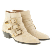 "Chloé  ""Susanna"" Boots in Beige"
