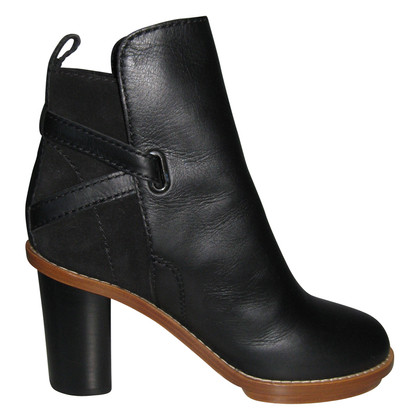 Acne Ankle boots from leather and suede
