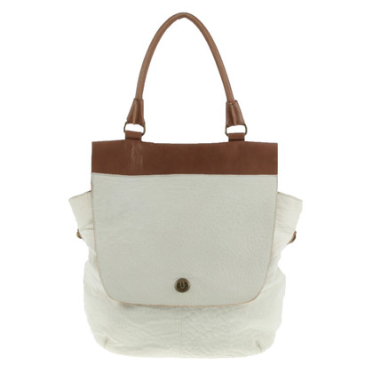 Aridza Bross Two-Tone Tote