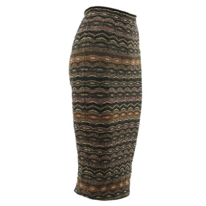 Missoni skirt shiny