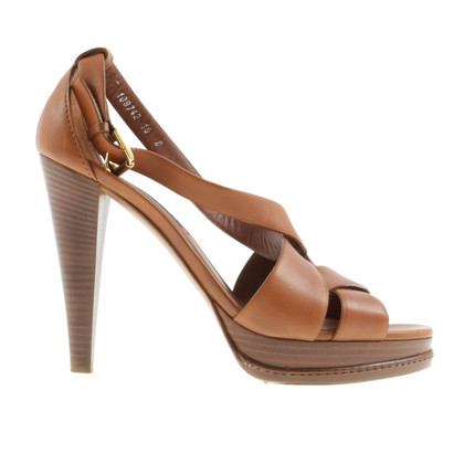 Ralph Lauren Sandals in Cognac