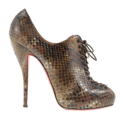 Christian Louboutin Ankle boot made of reptile leather
