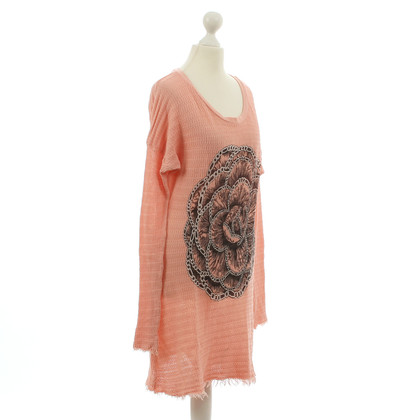 Lauren Moshi Knitted dress in pink