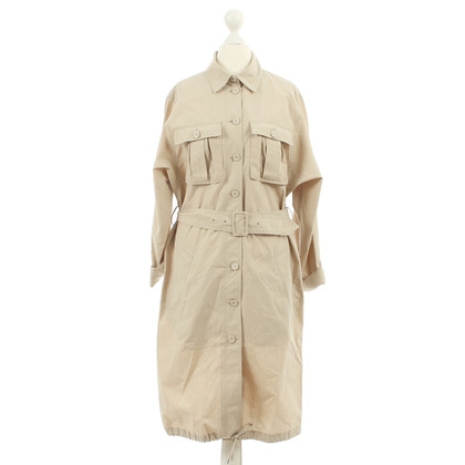 Jean Paul Gaultier Blusenkleid mit Nadelstreifen