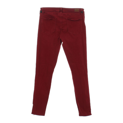"Paige Jeans Red ""Hoxton ultra skinny"" jeans"