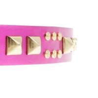 Matthew Williamson for H&M Cintura con borchie in rosa