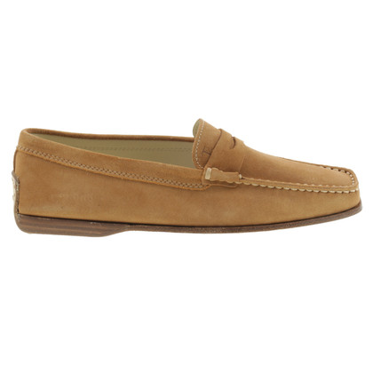 Tod's Suede loafers in beige