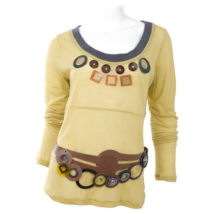 Marni Top with applications and belt