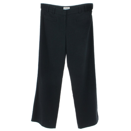 Chanel Bouclé pants in blue