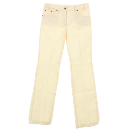 Chloé Flared leg pants in cream