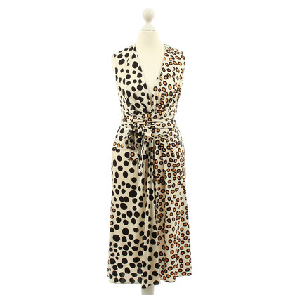 Issa Silk dress with dots