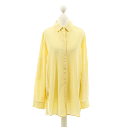 DKNY Yellow silk blouse
