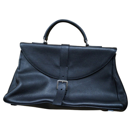 Jil Sander Black leather bag