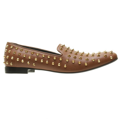 Giacomorelli Rivets-slipper in Brown