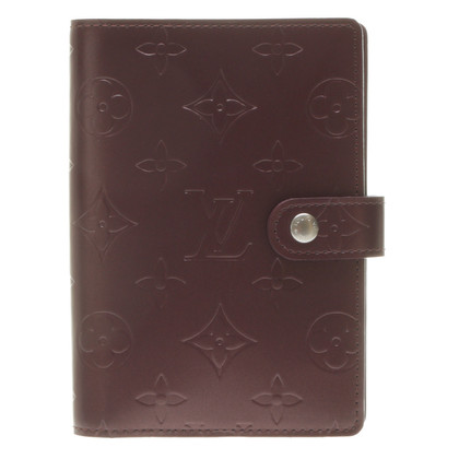 Louis Vuitton Agenda in Monogram Mat