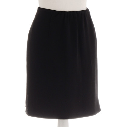 Miu Miu Black wrap skirt