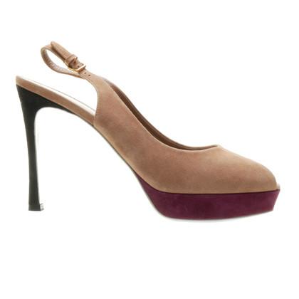 Yves Saint Laurent Sling peep-toes