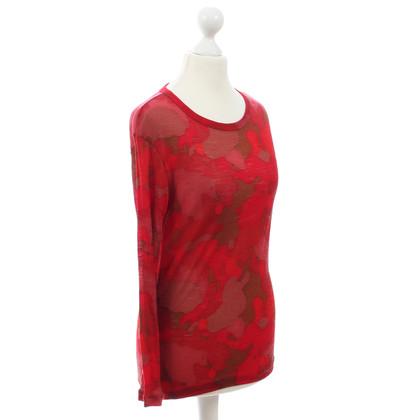 Yohji Yamamoto Long-Sleeve in Rot