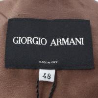 Giorgio Armani Pantaloni tuta in marrone