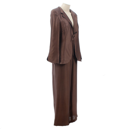 Giorgio Armani Brown trouser suit