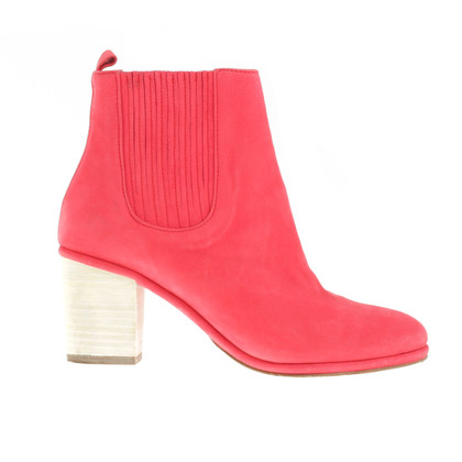 Opening Ceremony Red ankle boots