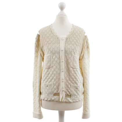 Nina Ricci Cream and gold Cardigan