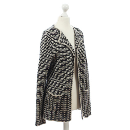 Rena Lange Cardigan in black cream