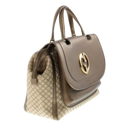 Gucci Handtasche im Material-Mix