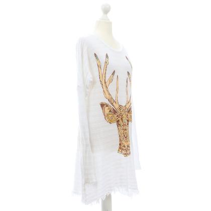 Lauren Moshi Lange trui met afdrukken