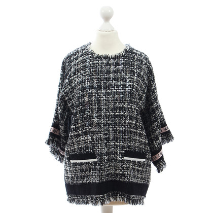 MSGM top in bouclé