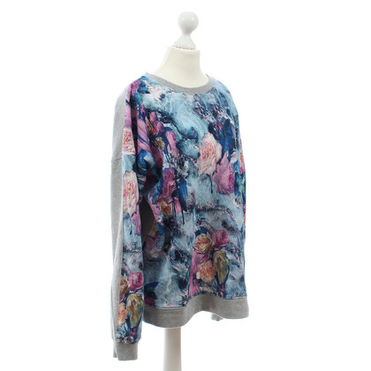 MSGM Sweater with flower print