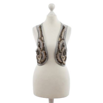 Other Designer SITA Murt - knit vest with trim